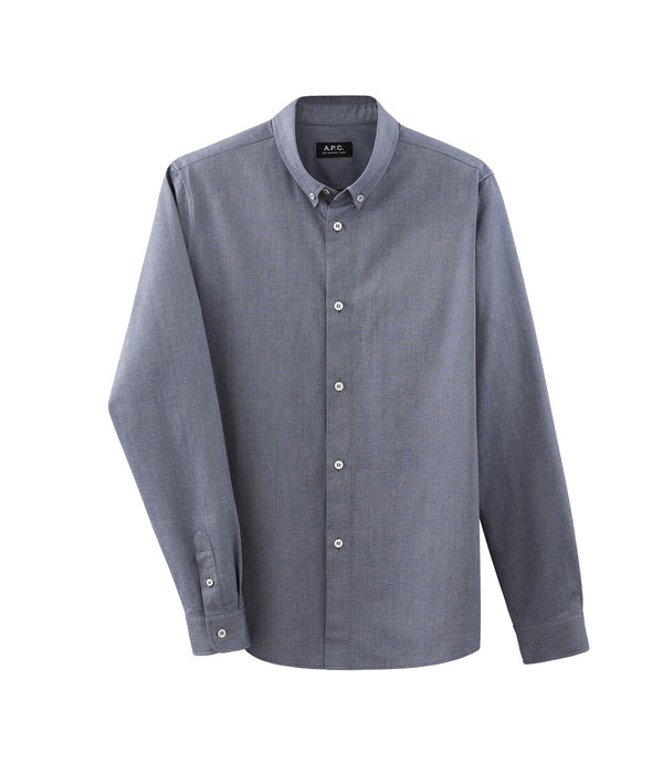 Button-down shirt - IAK - Navy