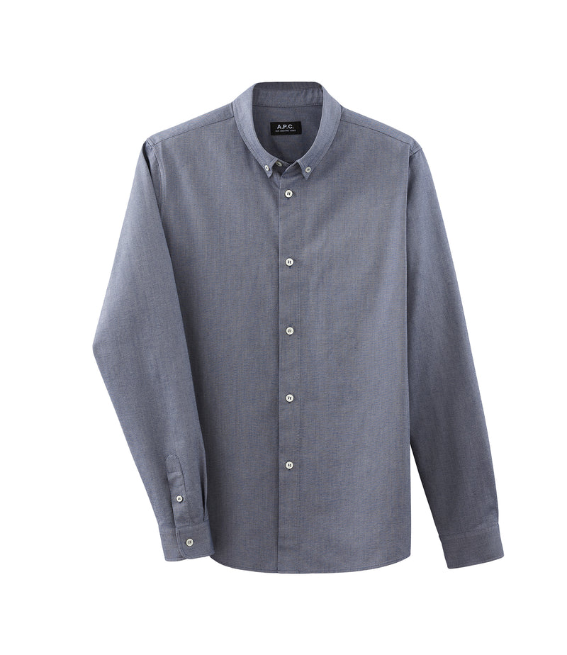 This is the Button-down shirt product item. Style IAK-1 is shown.