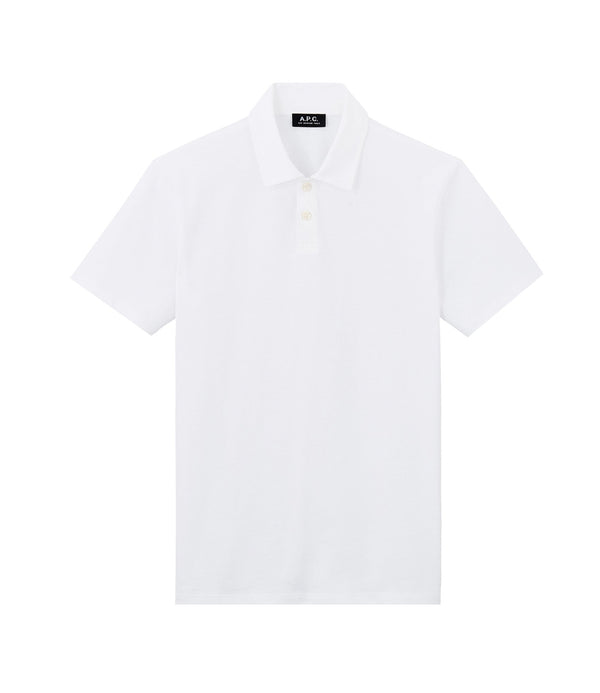 Pavement polo shirt - AAB - White