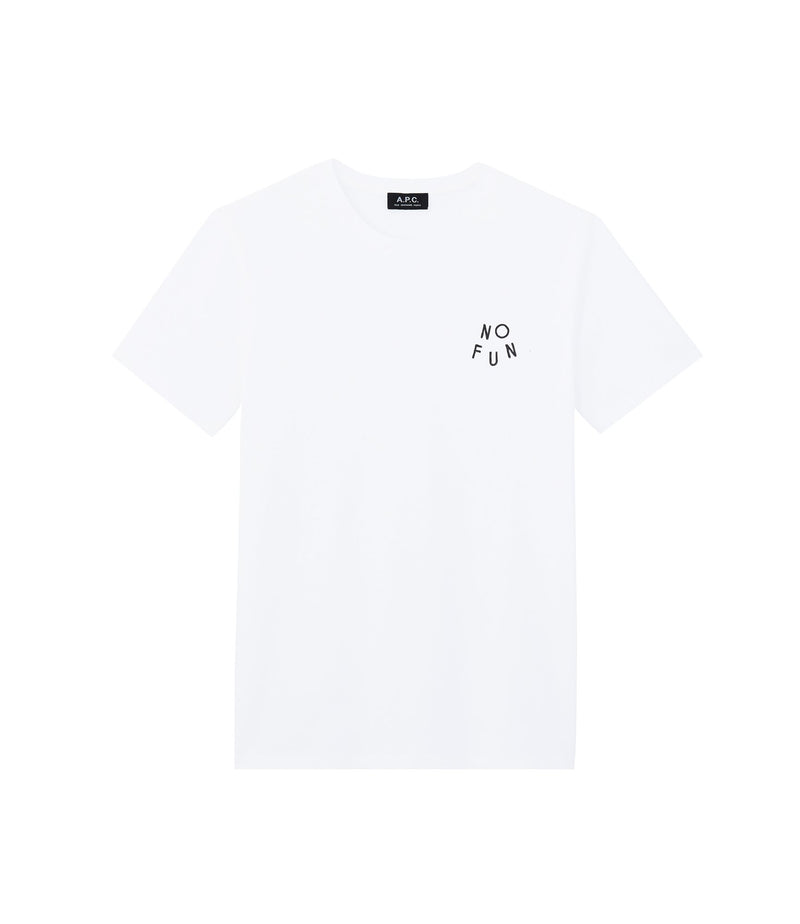 This is the No Fun T-shirt product item. Style AAB-1 is shown.