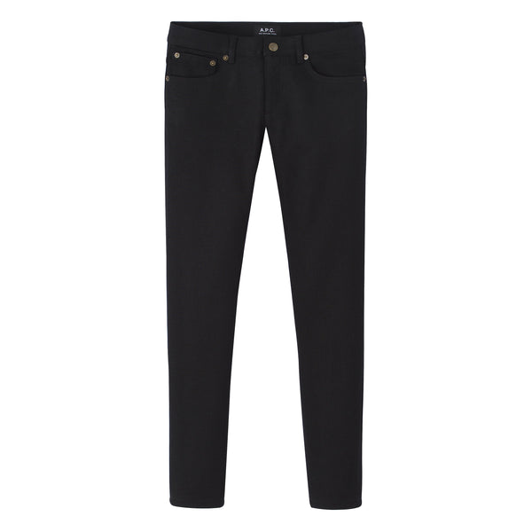 Jean Etroit Court - LZZ - Black Stretch