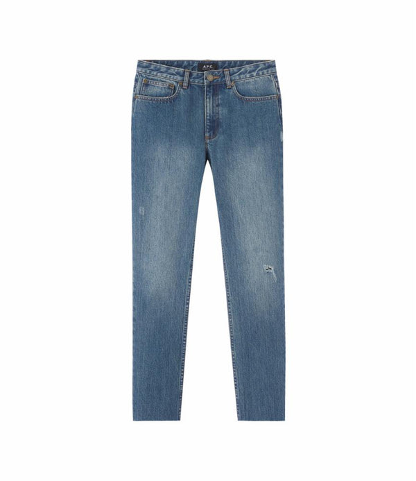 Straight cut-off jeans - IAL - Blue