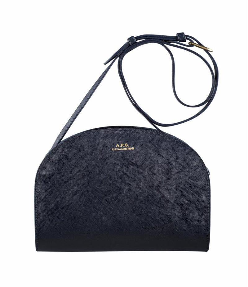 This is the SAC DEMI LUNE CUIR EMBOSSE VEA product item. Style SAC DEMI LUNE CUIR EMBOSSE VEA is shown.
