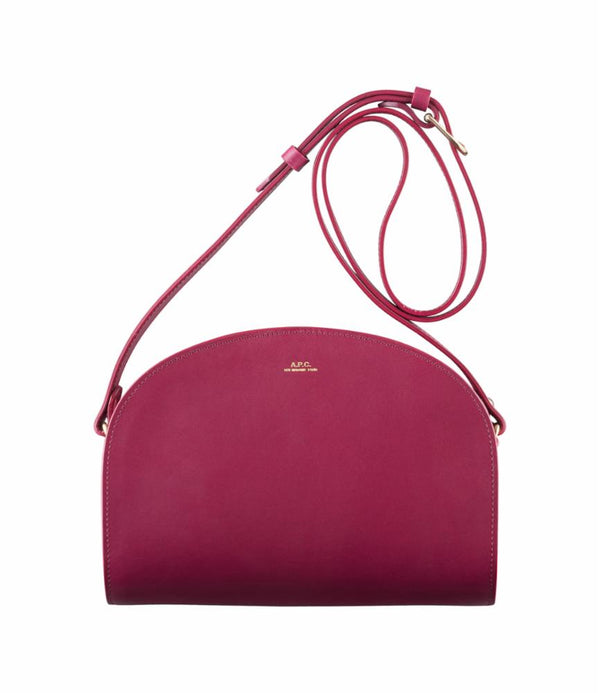 Demi-lune bag - FAG - Raspberry
