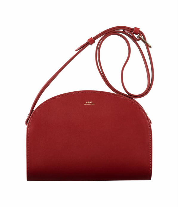 Half-moon bag - GAB - Red