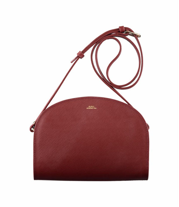 Demi-lune bag - GAD - Burgundy