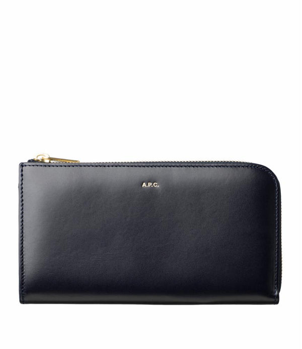 Lise wallet - IAK - Dark navy blue