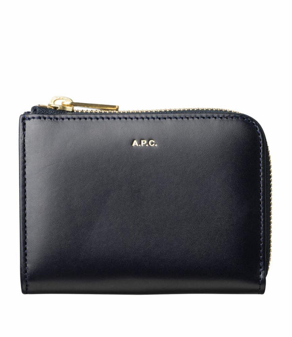 Lise coin purse - IAK - Dark navy blue