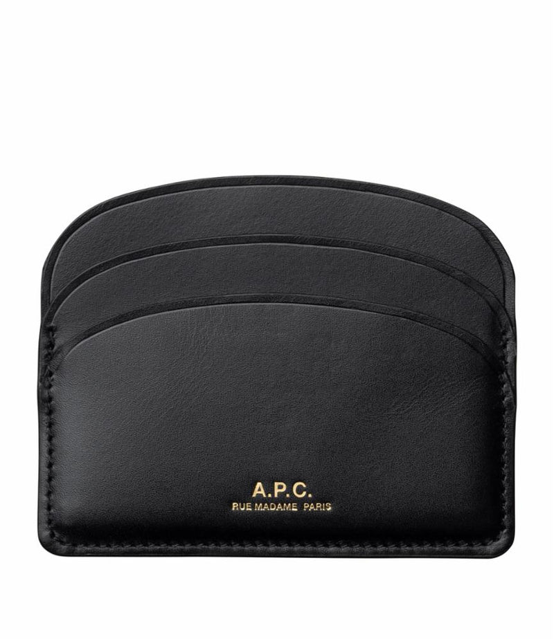 This is the Half-moon cardholder product item. Style LZZ-1 is shown.