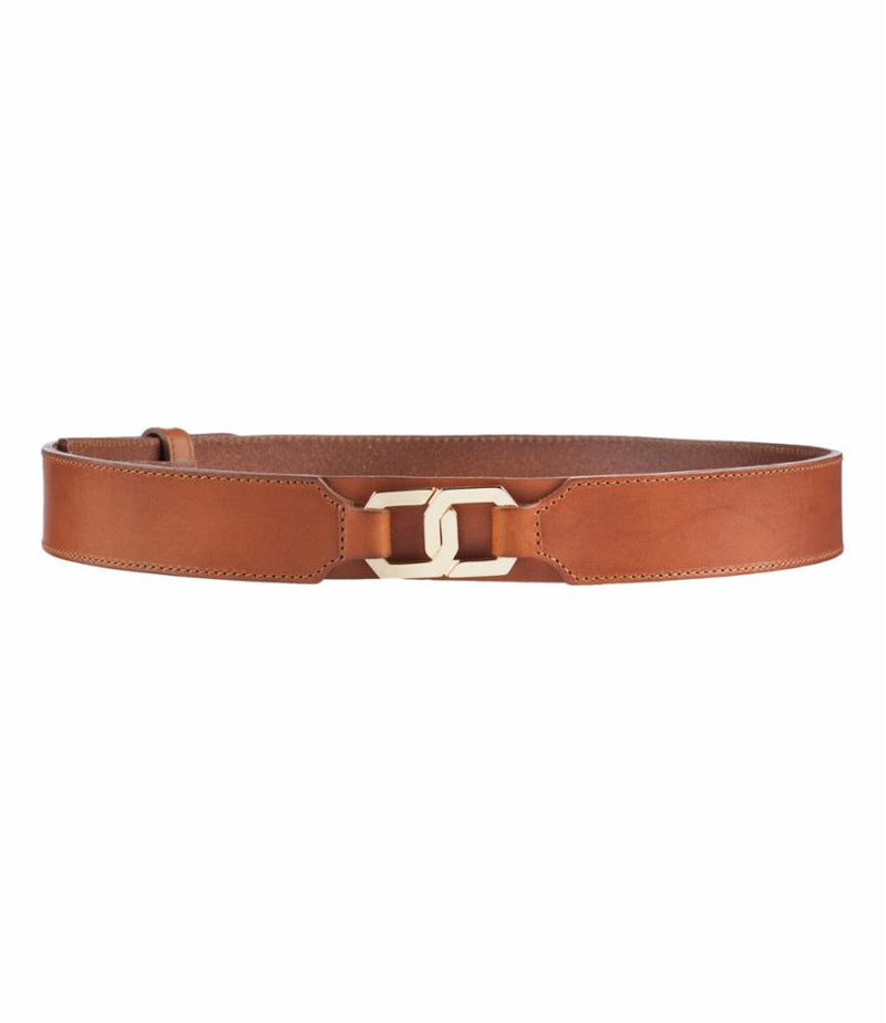 This is the CEINTURE DOUBLE ANNEAU CARAMEL product item. Style CEINTURE DOUBLE ANNEAU CARAMEL is shown.