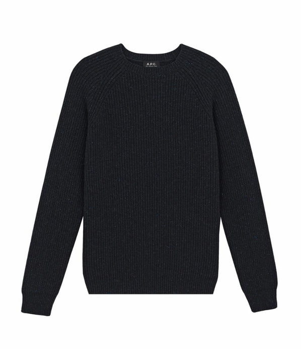 Rib sweater - PLC - Heathered charcoal gray