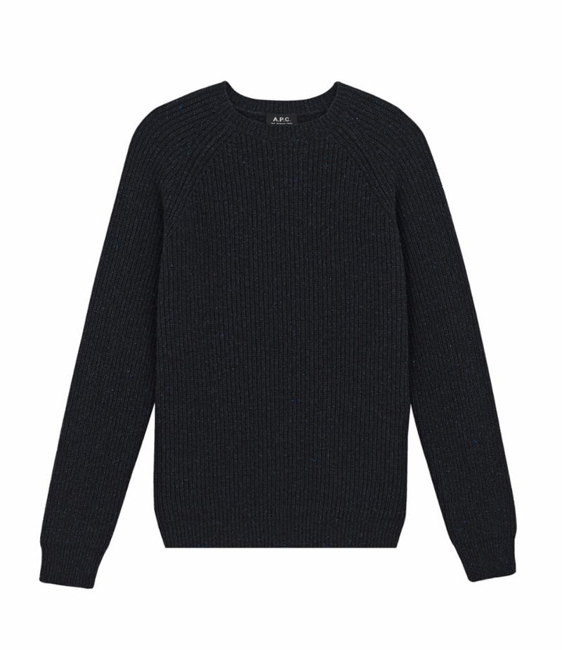 This is the Rib sweater product item. Style PLC-1 is shown.