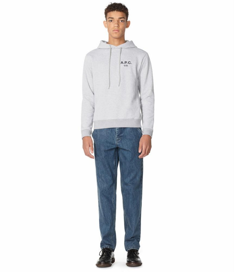 This is the HOODIE APC US H product item. Style HOODIE APC US H is shown.