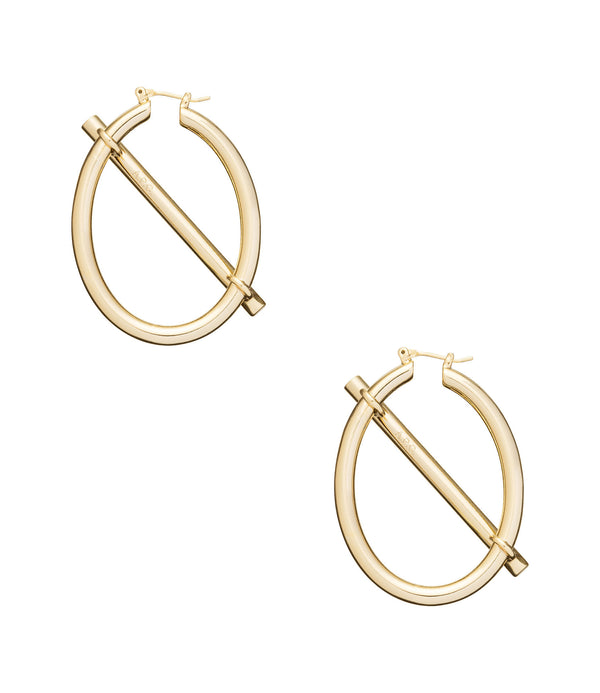 Bridget earrings - RAA - Goldtone