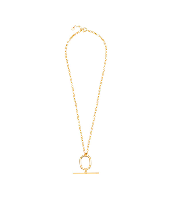 Thin Bridget necklace - RAA - Goldtone