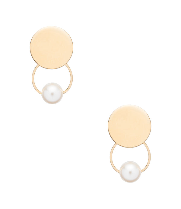 Florence earrings - RAA - Goldtone