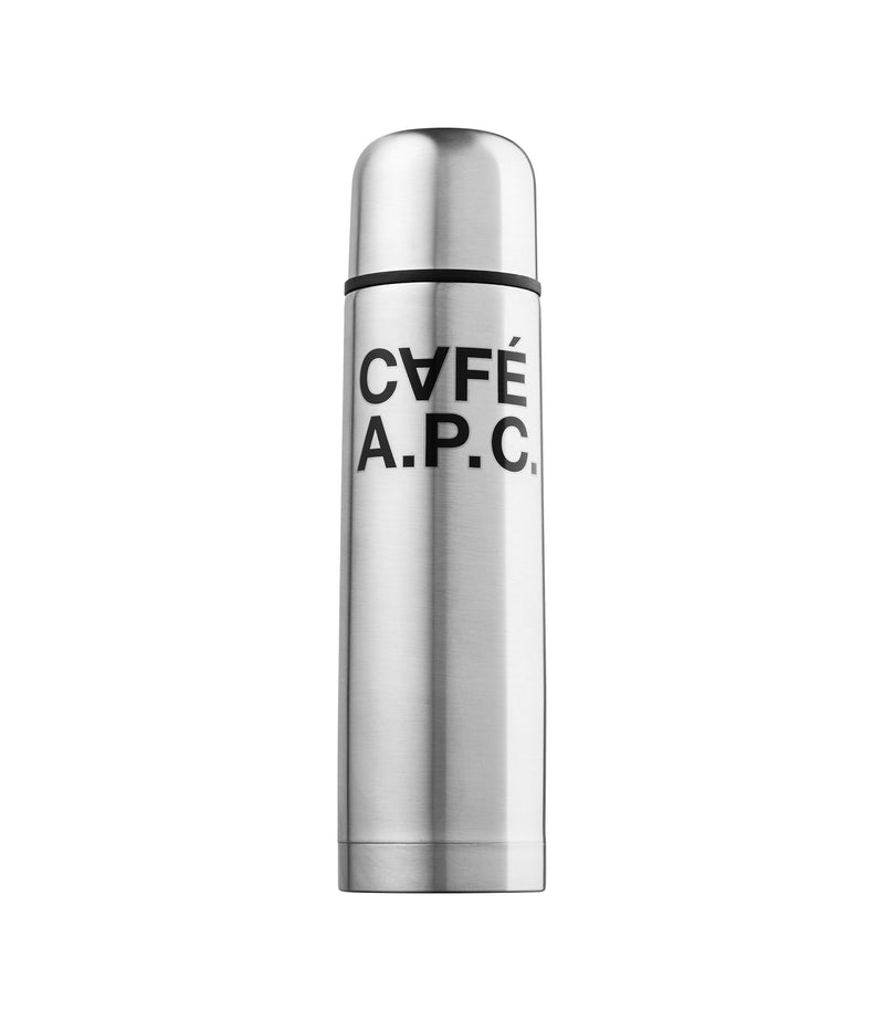 This is the CAFÉ A.P.C. insulated water bottle product item. Style RAB-1 is shown.