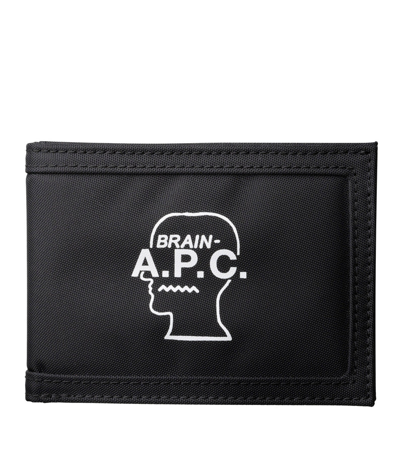 This is the Brain Dead cardholder product item. Style LZZ-1 is shown.