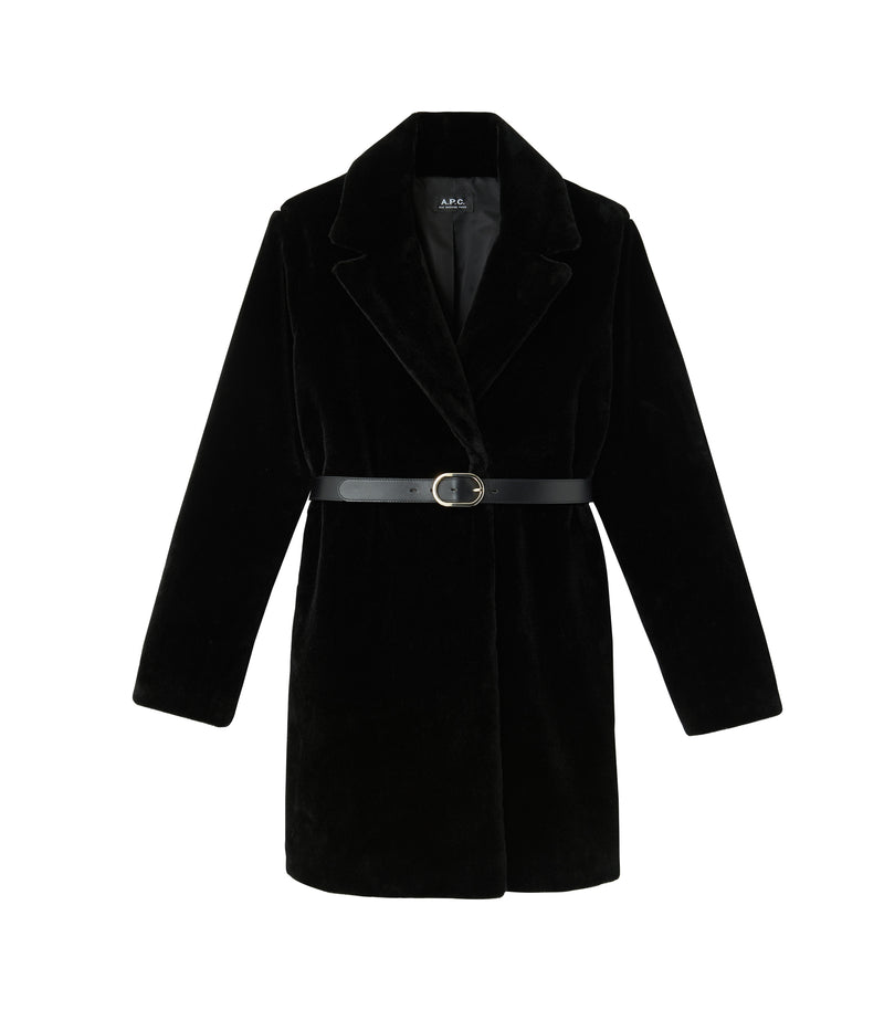 This is the Luisa coat product item. Style LZZ-1 is shown.