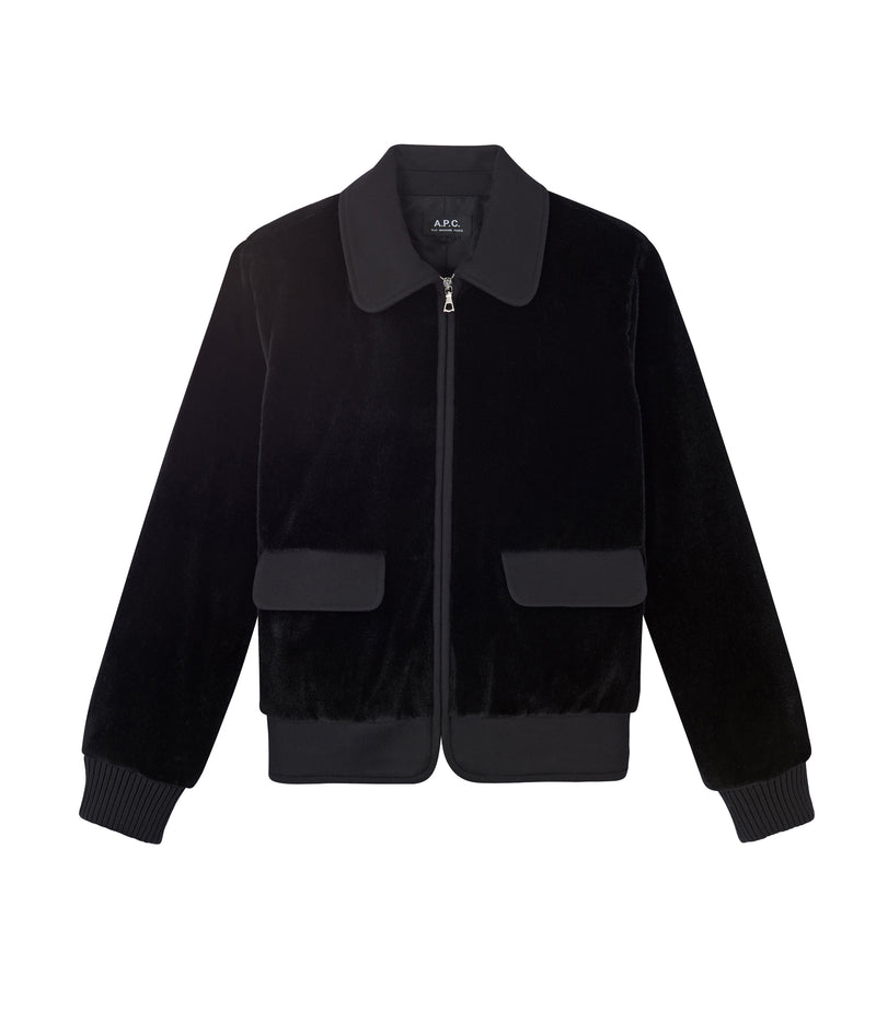 This is the Brune jacket product item. Style LZZ-1 is shown.