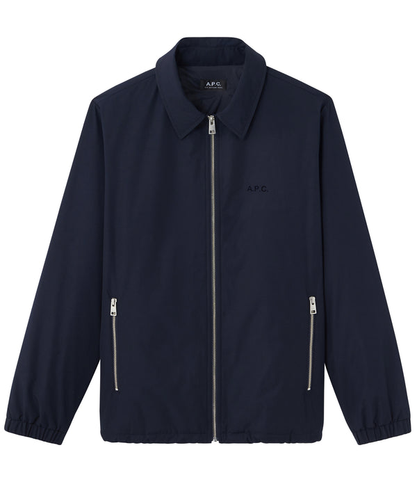 Léon jacket - IAK - Dark navy blue