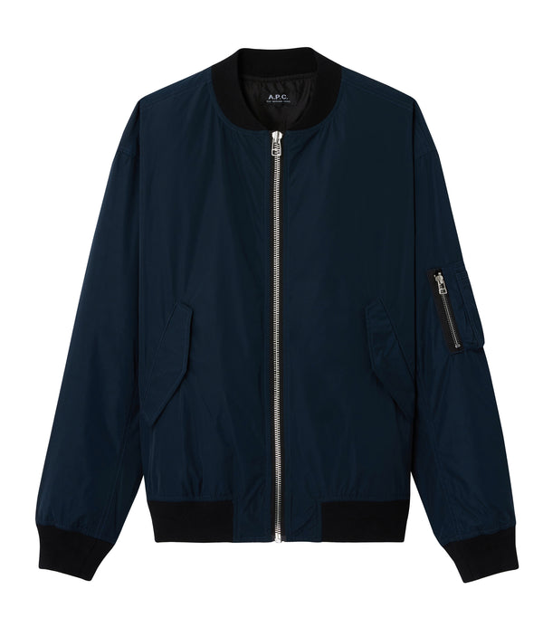 Birmingham jacket - IAF - Steel blue