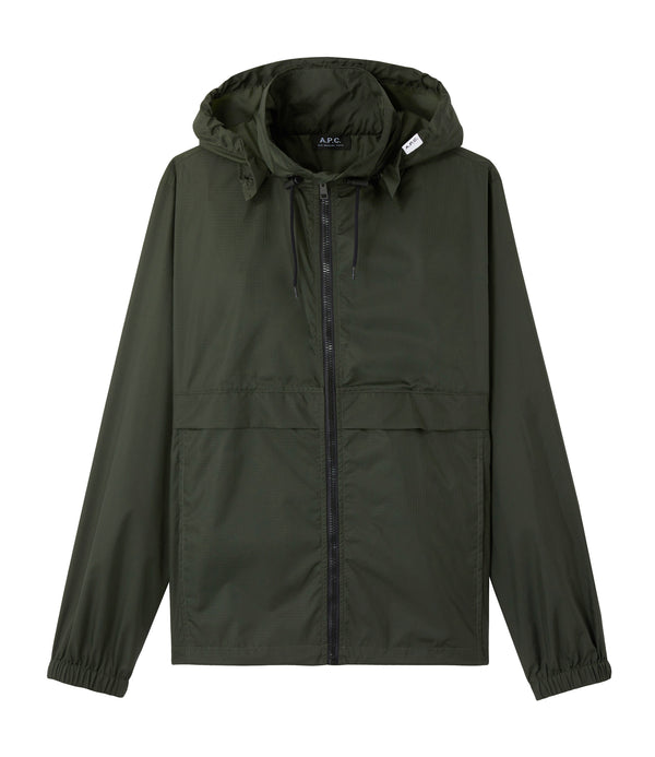 Miles windbreaker - KAG - Evergreen