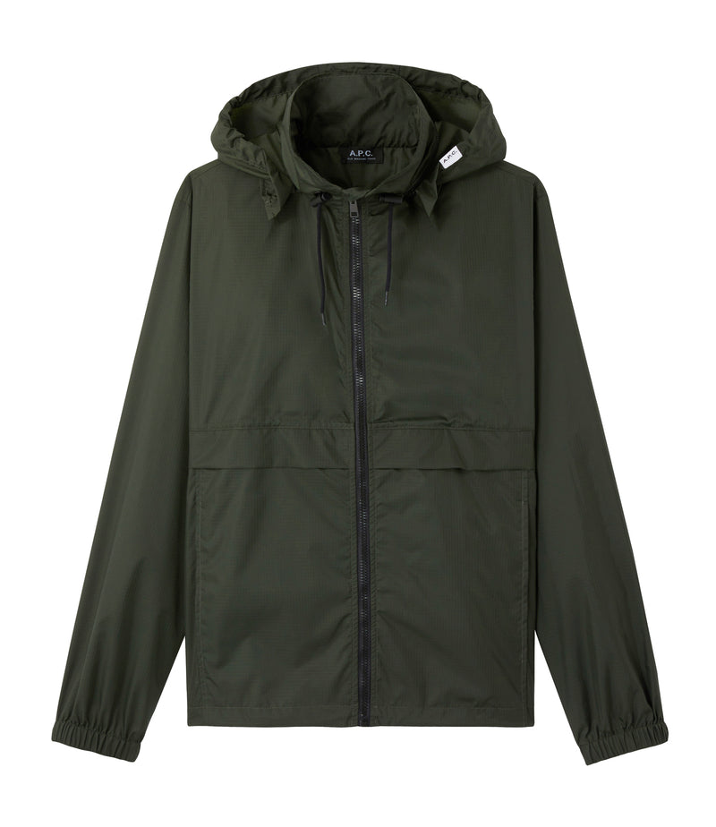 This is the Miles windbreaker product item. Style KAG-1 is shown.