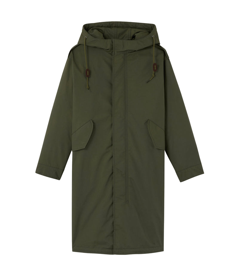 This is the Gertrude parka product item. Style JAC-1 is shown.