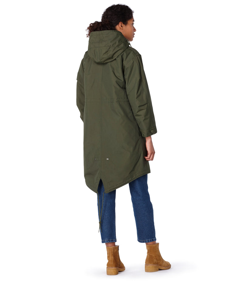 This is the Gertrude parka product item. Style JAC-3 is shown.