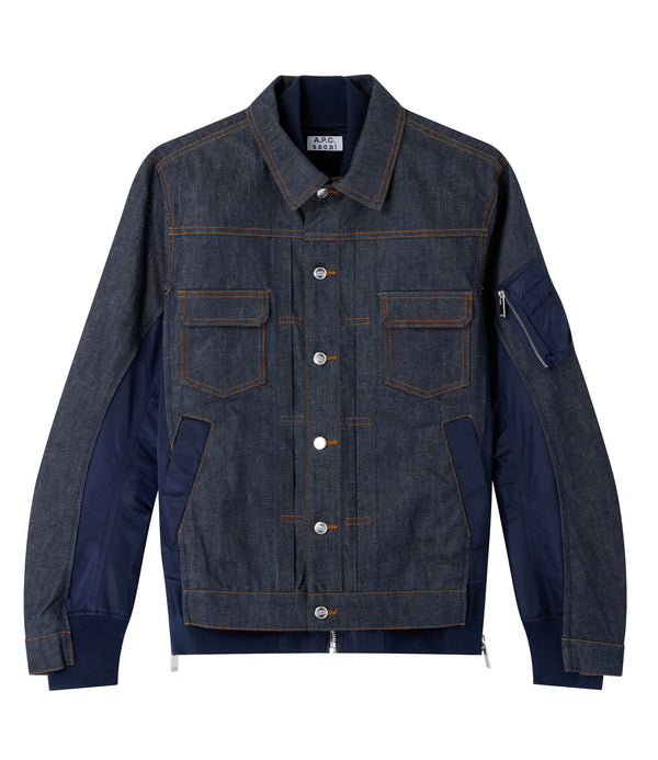 Eimi jacket - IAK - Navy blue