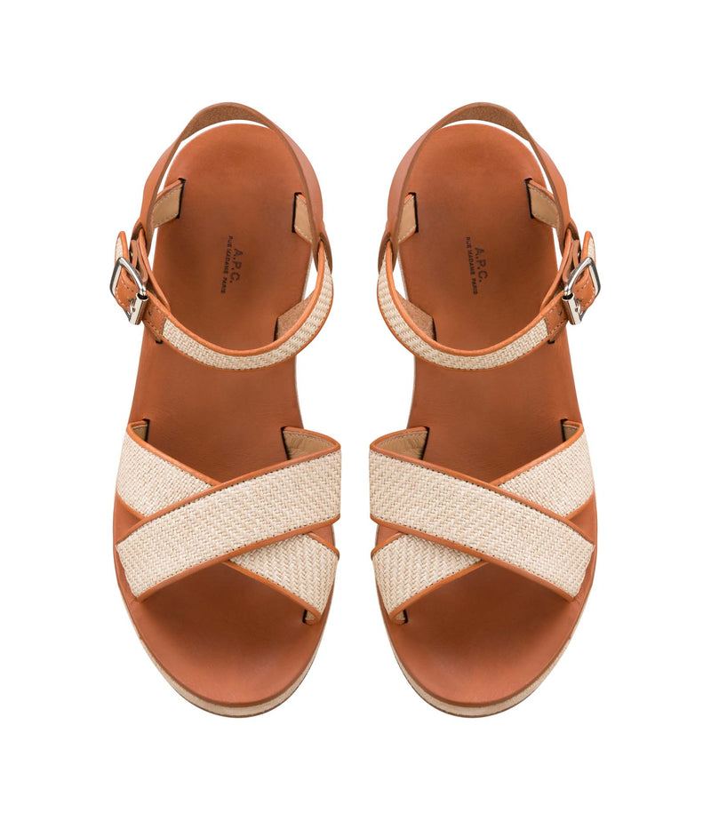 This is the Judith sandals product item. Style BAD-4 is shown.