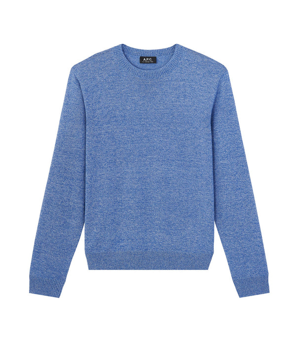 Douglas sweater - PIL - Heathered indigo
