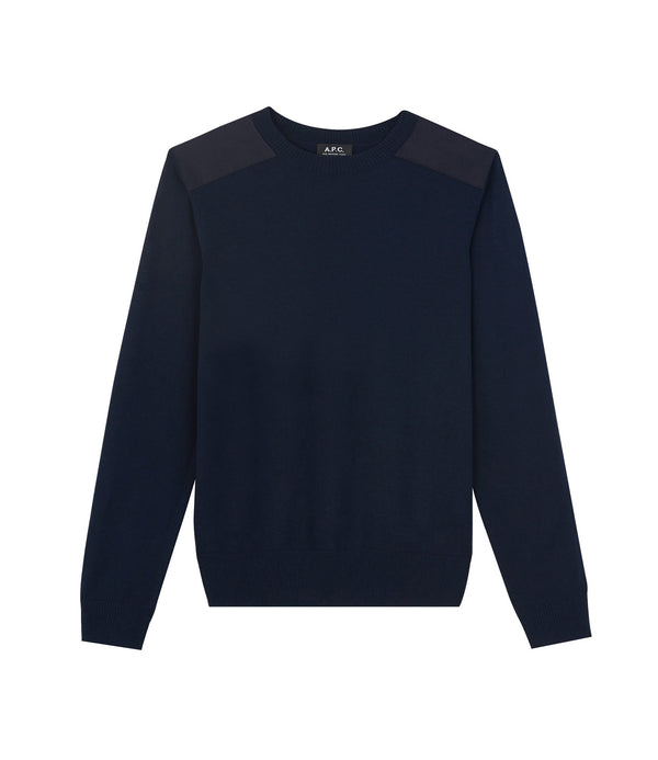 Ernest sweater - IAK - Dark navy blue