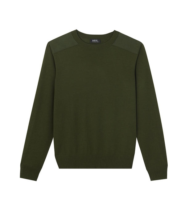 Ernest sweater - JAC - Military khaki