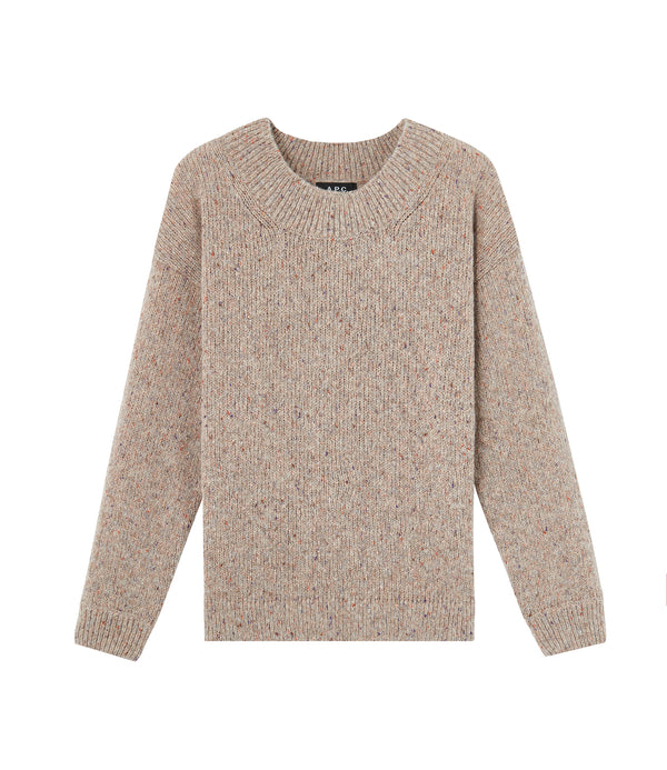 Kate sweater - PBB - Pale heather beige