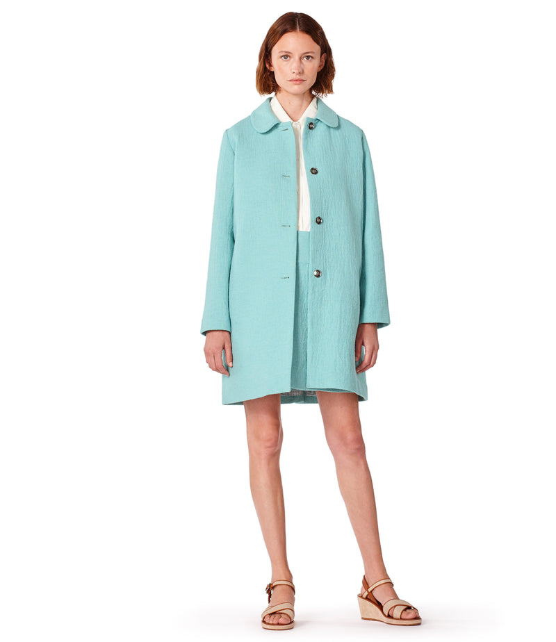 This is the Short Doll coat product item. Style IAD-2 is shown.