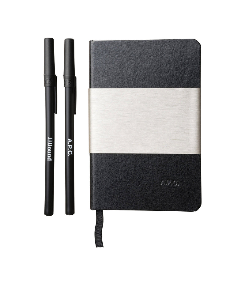 This is the JJJJound notebook and pens product item. Style LZZ-1 is shown.