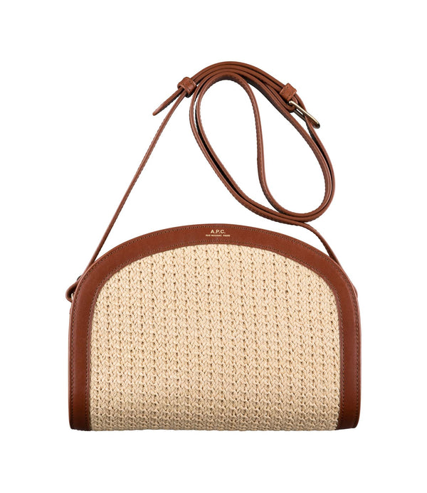 Demi-Lune bag - CAD - Nut brown