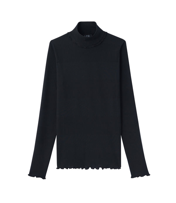 Angèle top - LZZ - Black