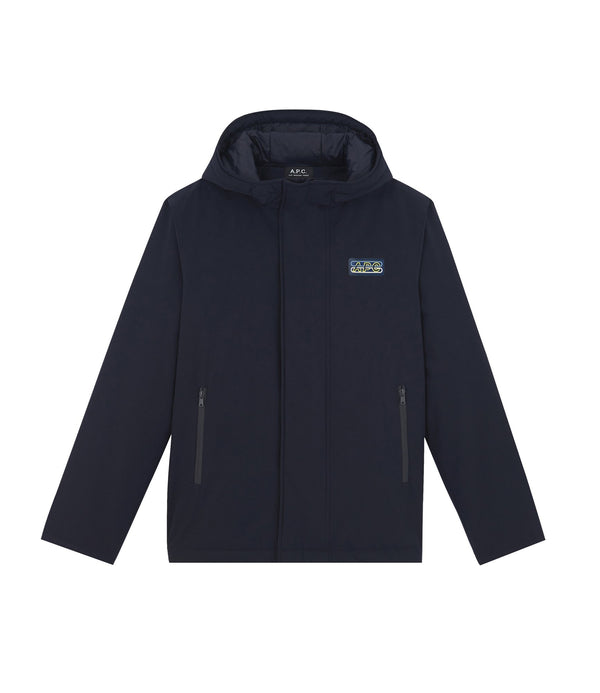 Cyber parka - IAK - Dark navy blue