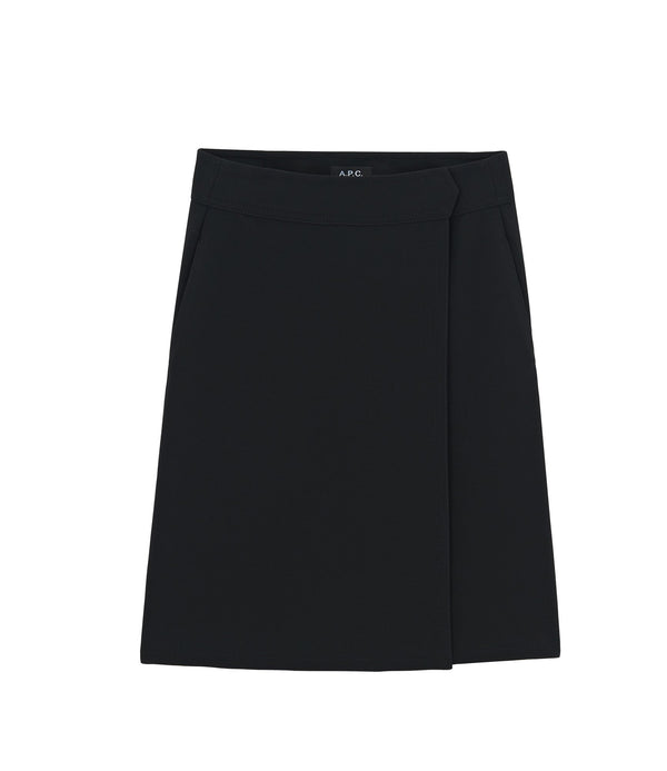 Stitch skirt - LZZ - Black