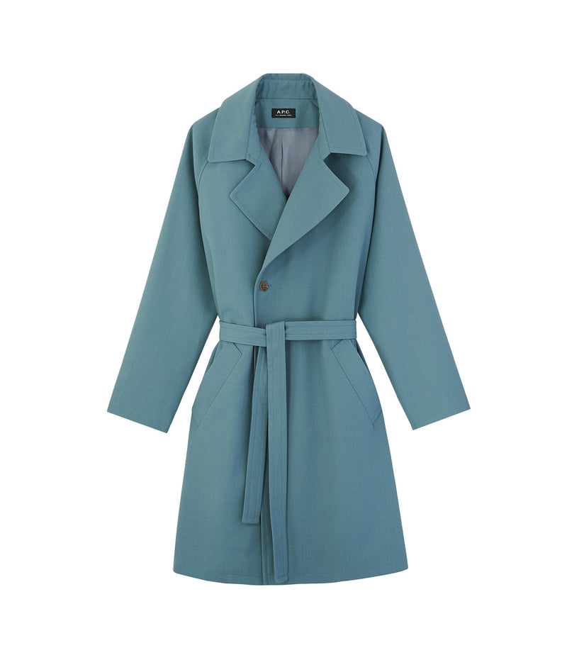 This is the Bakerstreet coat product item. Style KAE-1 is shown.