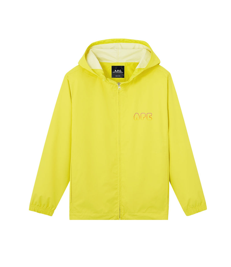 This is the Drizzle windbreaker product item. Style DAA-1 is shown.