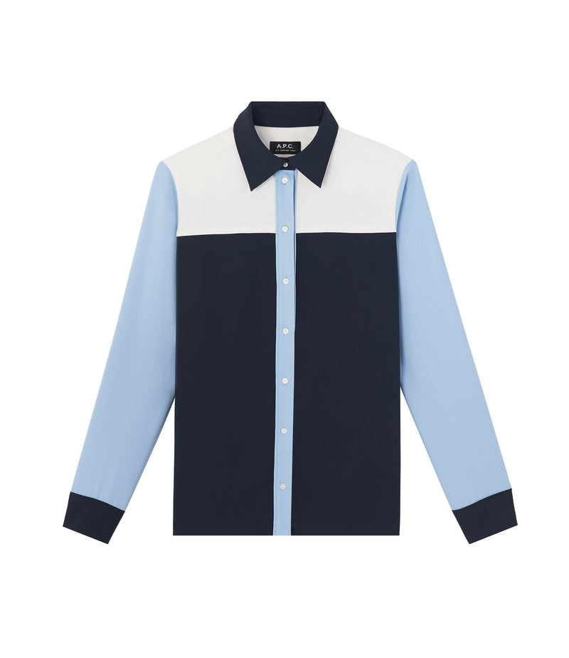 This is the Bérénice shirt product item. Style IAK-1 is shown.