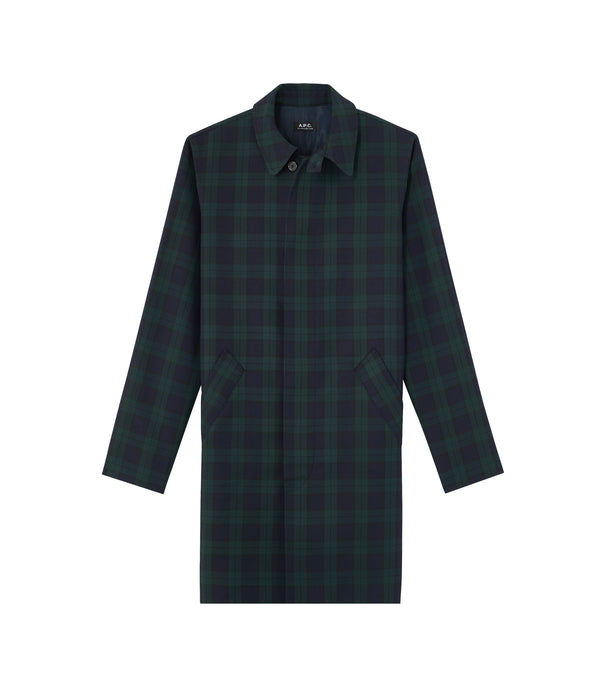 New England raincoat - KAG - Evergreen