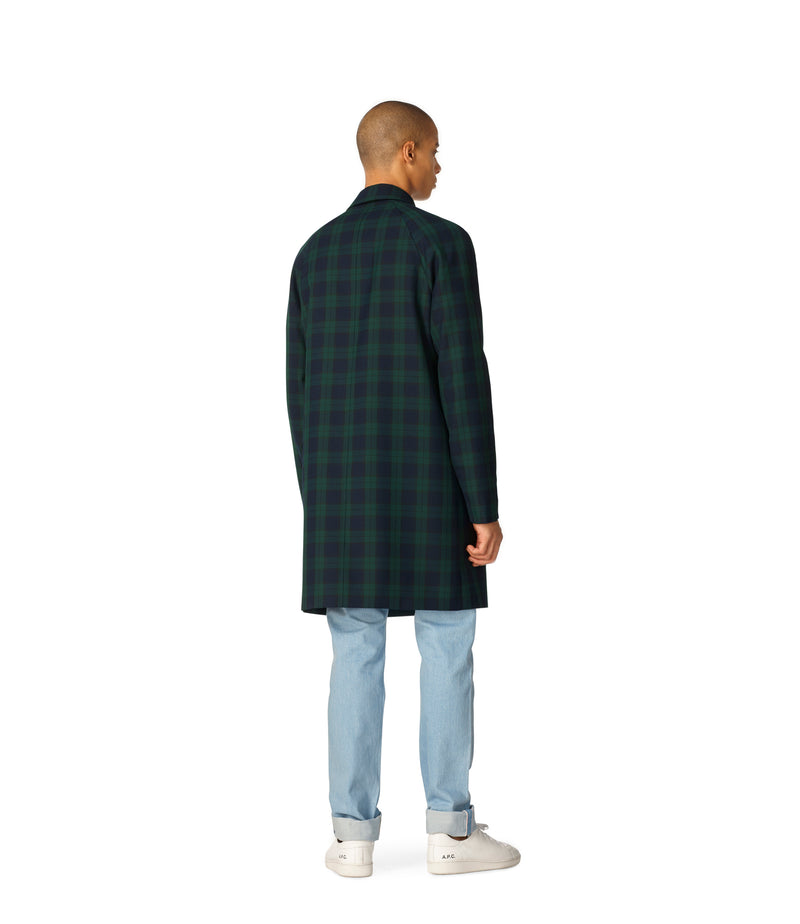 This is the New England raincoat product item. Style KAG-3 is shown.