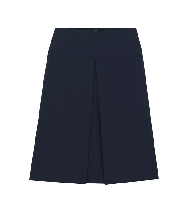 Lina skirt - IAK - Dark navy blue