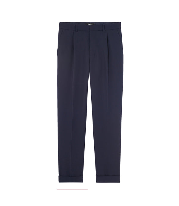 Alba pants - IAK - Dark navy blue