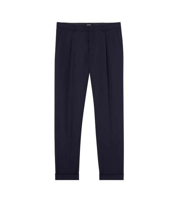 Kirk pants - IAK - Dark navy blue